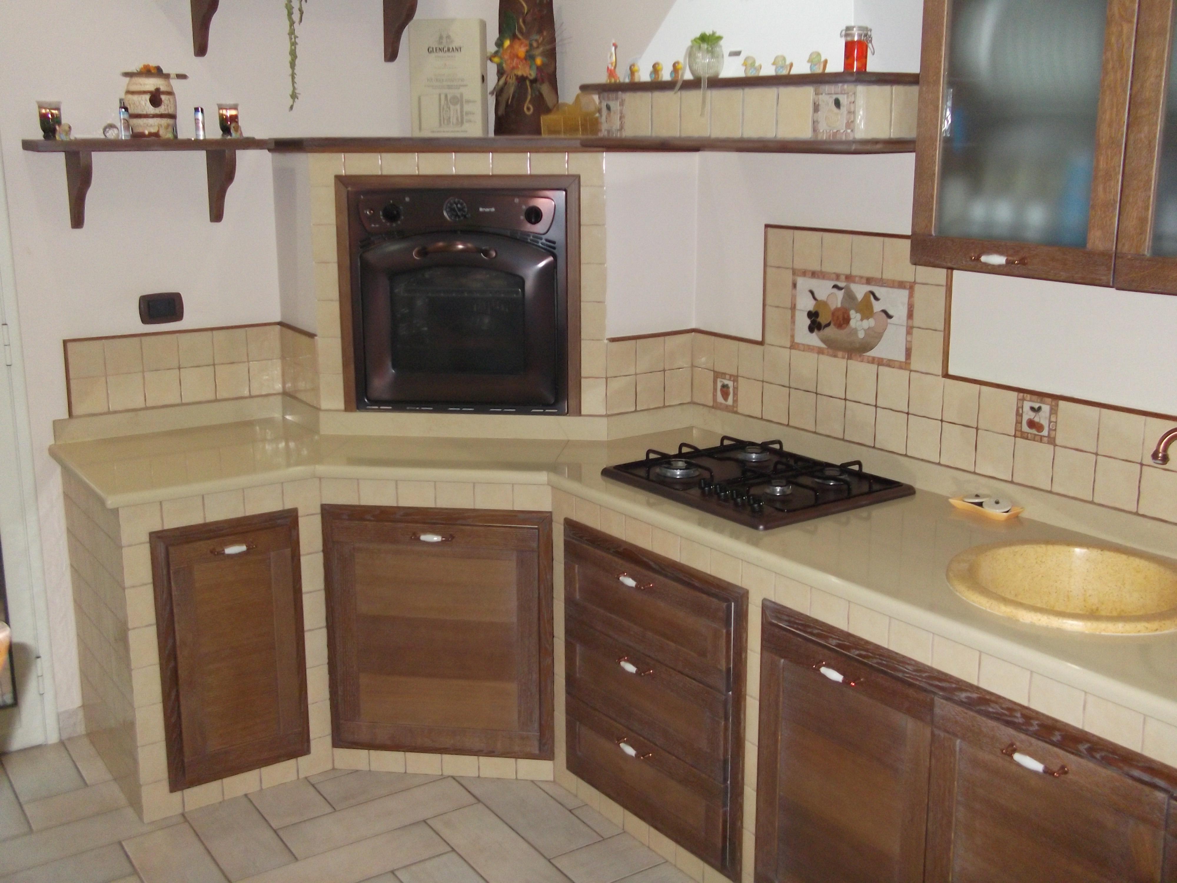 Cucine panna e ciliegio prezzi for Cucine muratura prezzi
